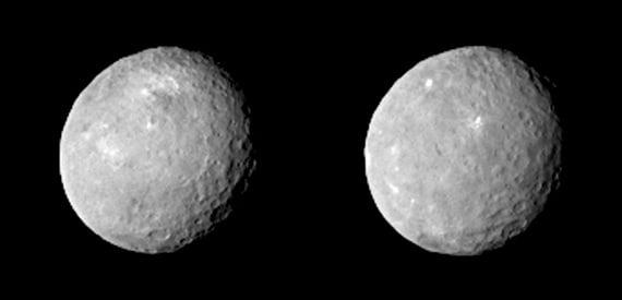 Dalla sonda Dawn: il pianeta nano Cerere