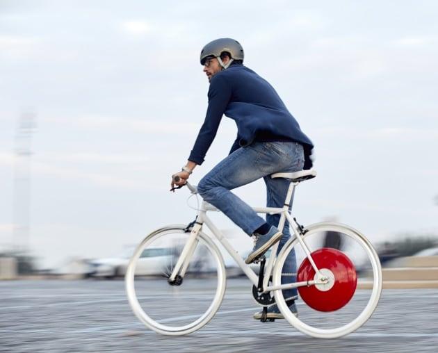 Copenhagen Wheel: la ruota che trasforma la bici in e-bike