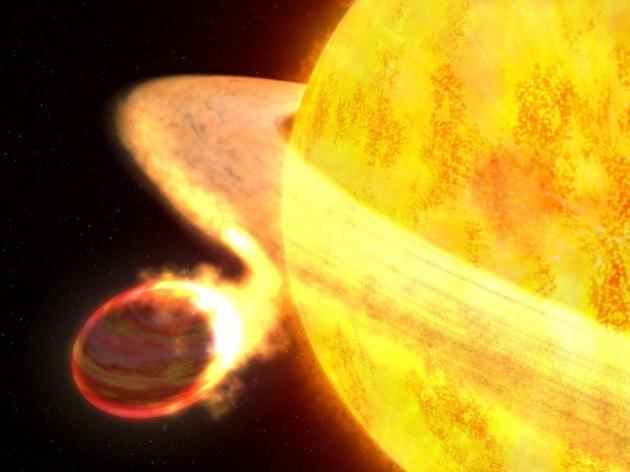 Kelt-9b, il più caldo pianeta gigante