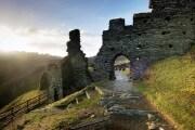 Il castello di Tintagel negli anni di re Artù