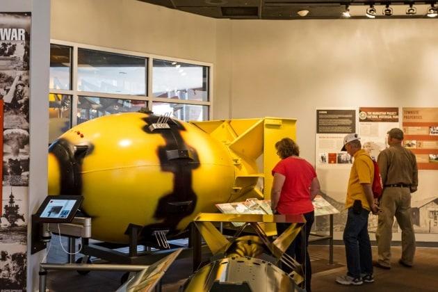 Un'arma nucleare perduta ritrovata da un sub