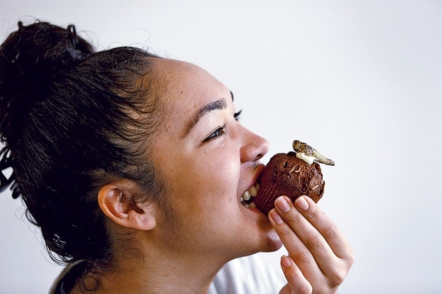 Insetti per pranzo: ecco il cibo del futuro