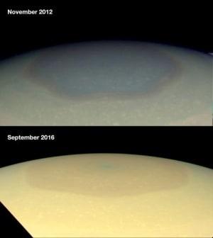 Cassini, Saturno