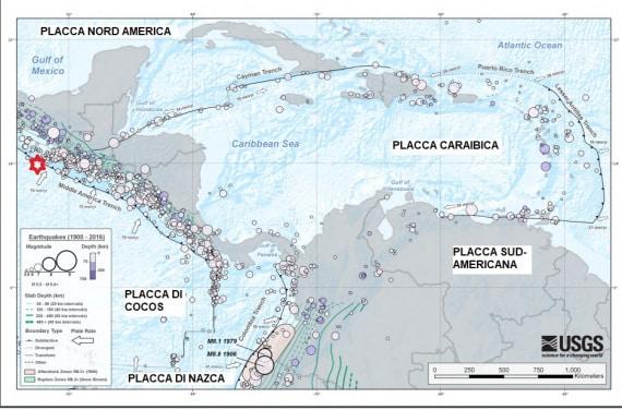 terremoti, tettonica delle placche: la complessità geologica del Golfo del Messico