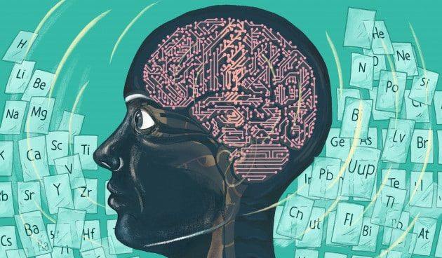 L'intelligenza artificiale si è laureata in chimica.|Claire Scully