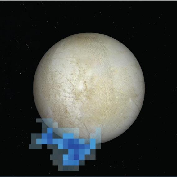 Europa, Giove, sonda Galileo, oceano di Europa, Nasa, vita extraterrestre, Sistema Solare