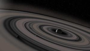 Sistema Solare, Saturno, anelli di Saturno