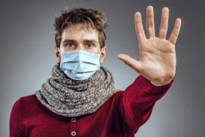come si prende l'influenza?