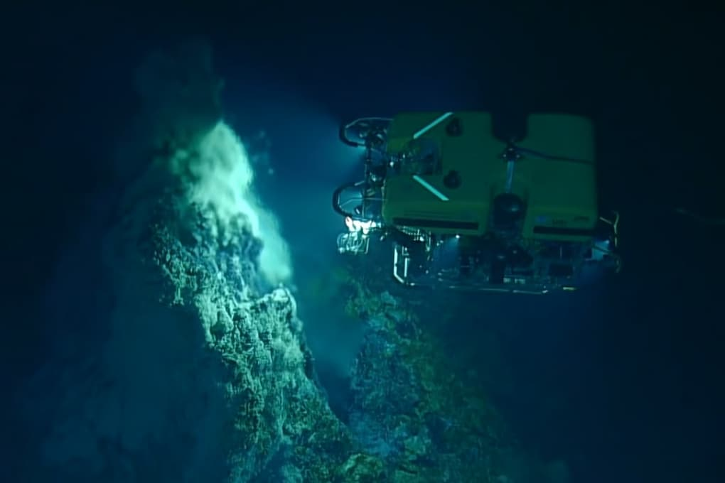 Camini idrotermali: i fertilizzanti degli oceani