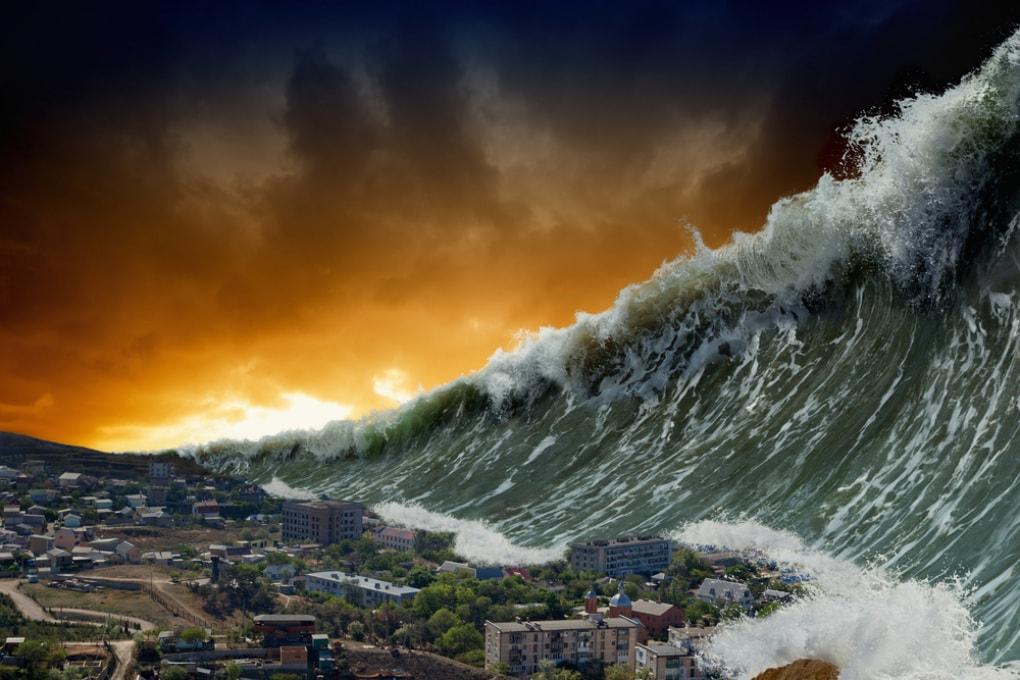 L'asteroide dei dinosauri causò uno tsunami con onde alte 1,5 chilometri
