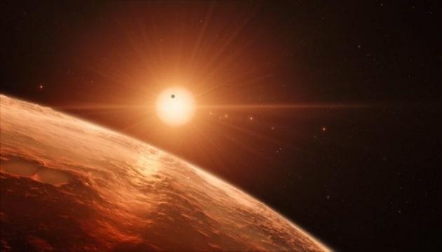 La scoperta dei 7 esopianeti attorno a un'unica stella. Tre candidati alla vita