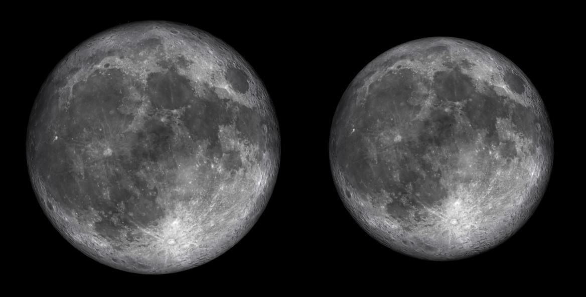 Arriva lo spettacolo della luna gigantesca