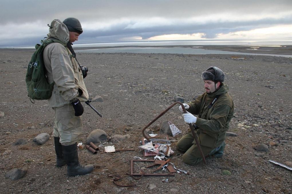 Una base nazista abbandonata nell'Artico?