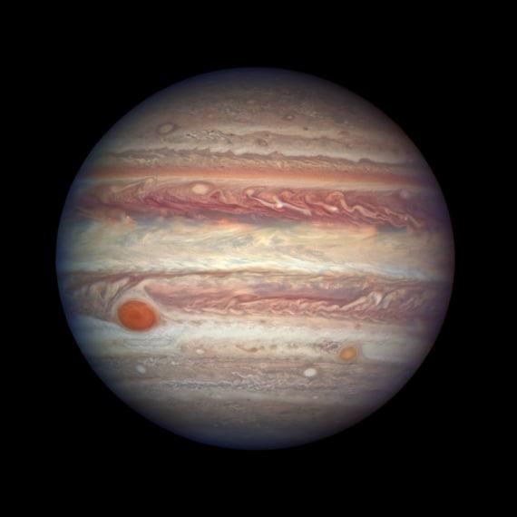 nasa, giove, juno, hubble, sistema solare