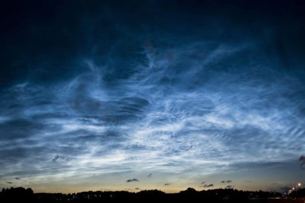 In anticipo lo spettacolo delle nubi nottilucenti