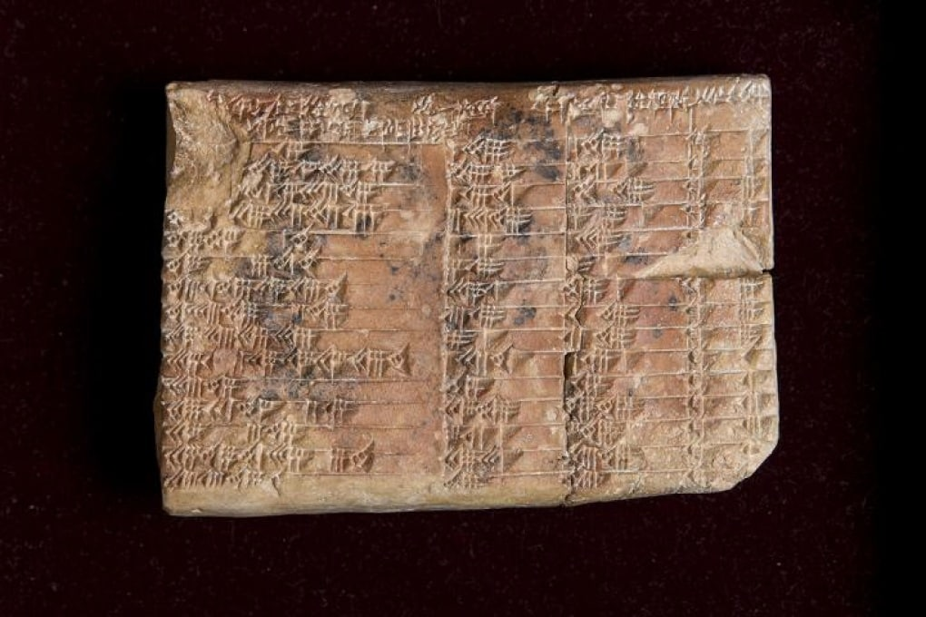 La tavola trigonometrica dei geometri di 3.700 anni fa
