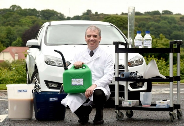 L'auto che va a whisky (e rispetta l'ambiente)