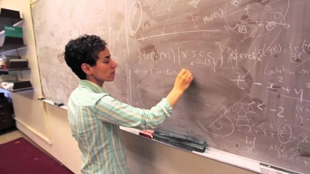 Maryam Mirzakhani, prima donna a vincere il Nobel della matematica