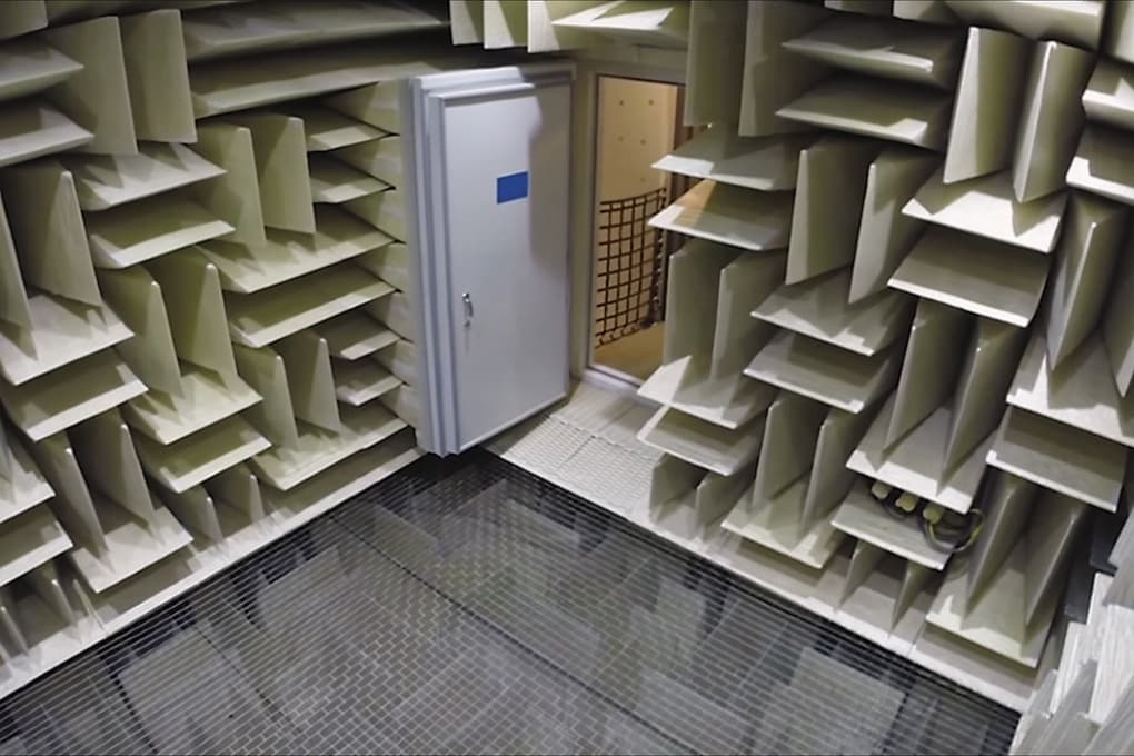 La stanza più silenziosa del mondo