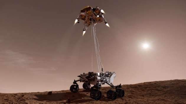 Mars 2020 farà foto in HD e in 3D