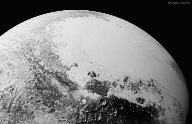 Le origini della macchia rossa di Plutone