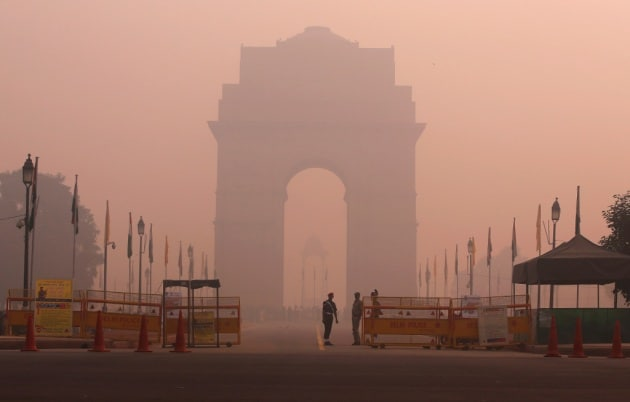 L'emergenza smog a Nuova Delhi