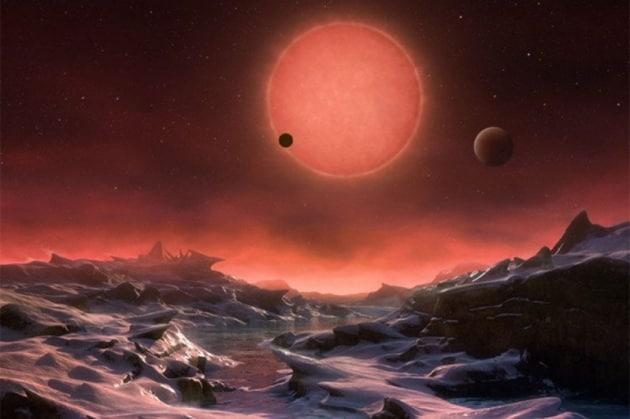Trappist-1, due pianeti potenzialmente abitabili