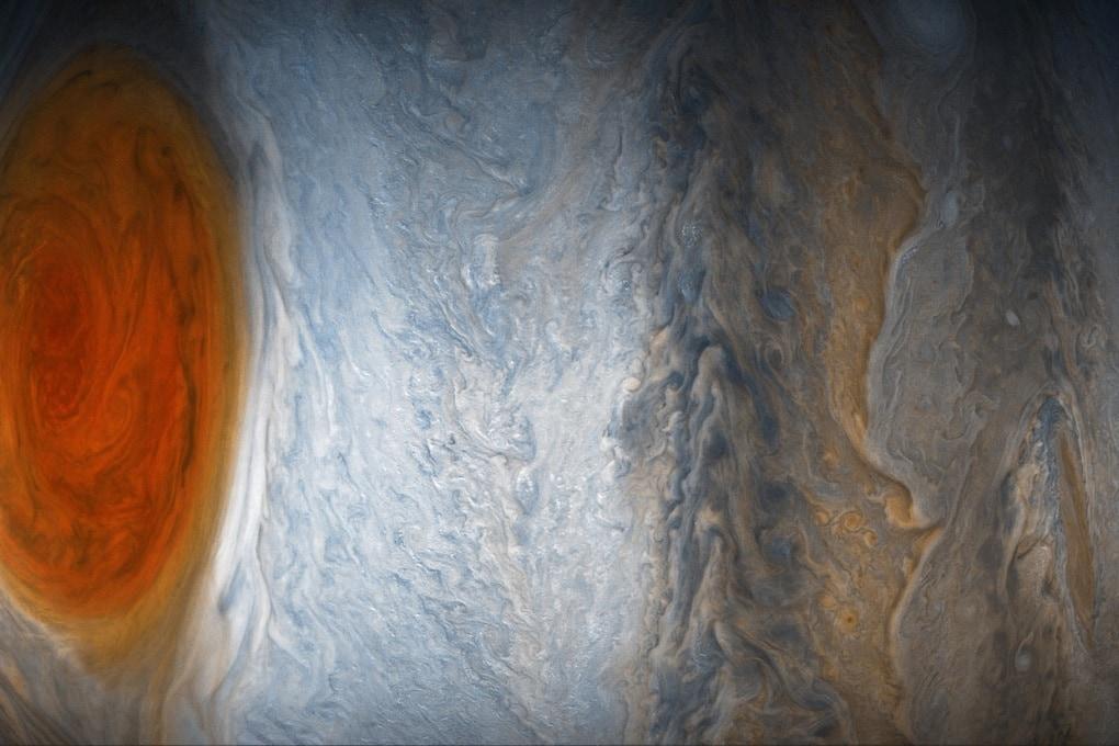I misteri della Grande Macchia Rossa di Giove