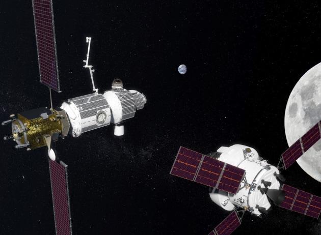 Un anno in orbita lunare: il piano della Nasa