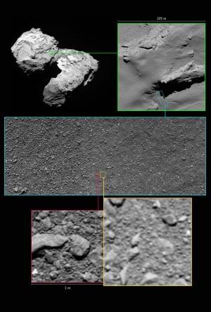Esa, sonda Rosetta, comete, 67P/Churyumov-Gerasimenko