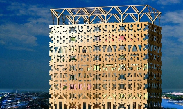 Grattacieli di legno: i nuovi architetti costruiscono così