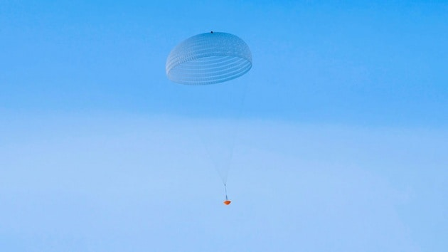 Il più grande paracadute marziano mai realizzato
