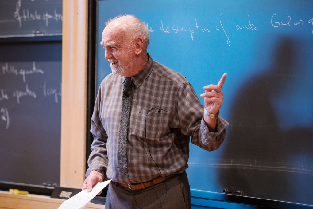 Robert Langlands ha vinto il Premio Abel per la matematica