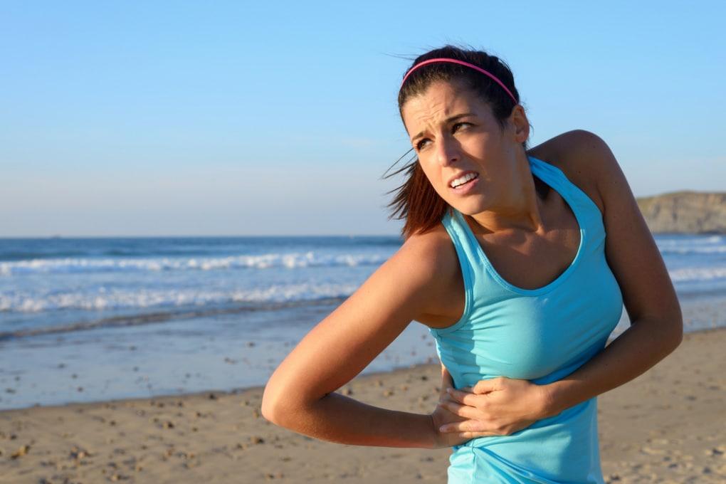 Perché quando corriamo ci fa male il fianco?