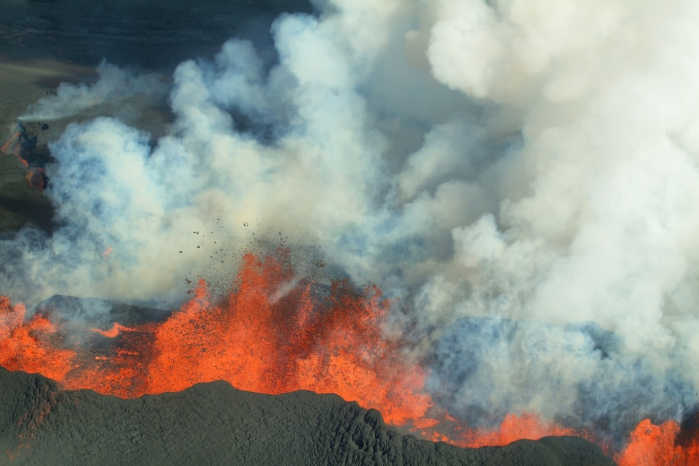 Islanda, si prepara a eruttare il vulcano dei record