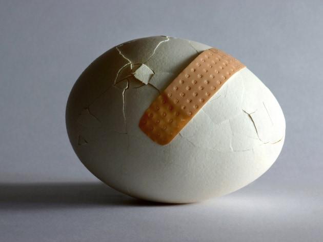 Perché non si può riaggiustare un uovo?