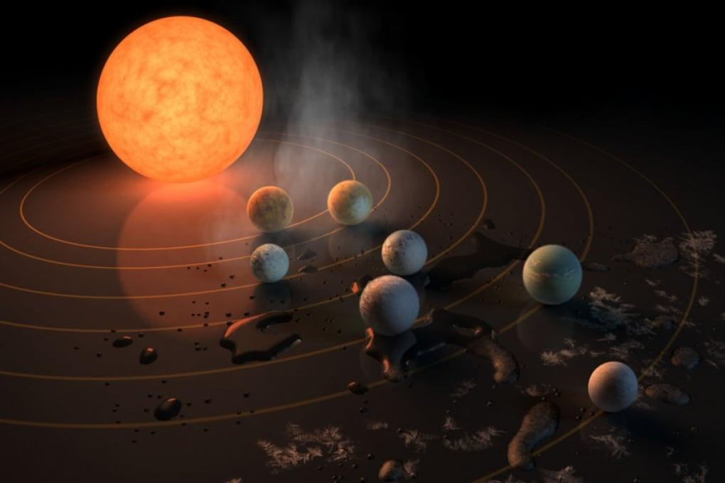 L'armonia musicale del sistema planetario TRAPPIST-1