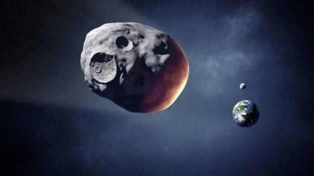 """Sorpresa: 3122 Florence, l'asteroide che ci ha """"sfiorato"""", ha due lune"""