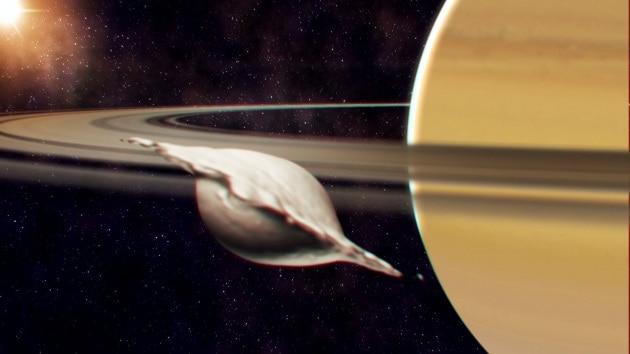 Atlas, Pan, Giapeto e altre piccole lune del sistema di Saturno