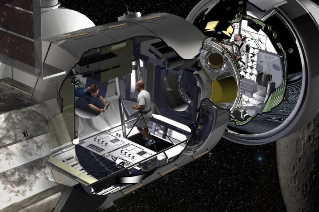 L'habitat lunare (e marziano) per gli astronauti