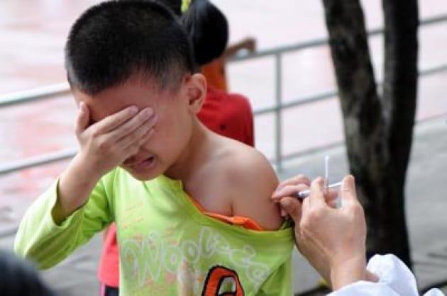 Ancora in calo i bambini vaccinati