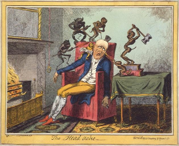 I rimedi del passato contro il mal di testa