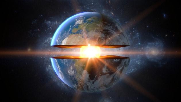 Azoto liquido al centro della Terra