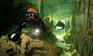 speleologia, grotte sommerse, grotte, fossili, Yucatan, Messico, Maya, archeologia