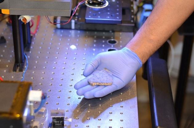 Un meteorite marziano farà la strada a ritroso