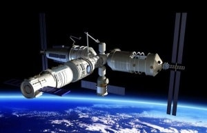Tianzhou-1, Tiangong-2, stazione spaziale cinese