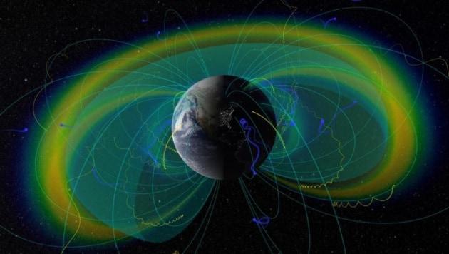Risultati immagini per campo energia avvolge la terra