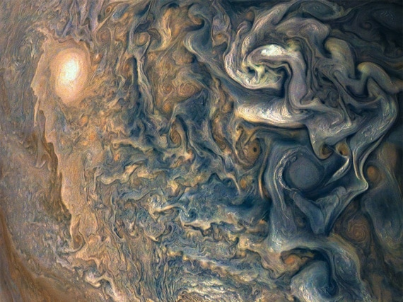 Giove, atmosfera di Giove, Nasa, sonda Juno, Sistema Solare