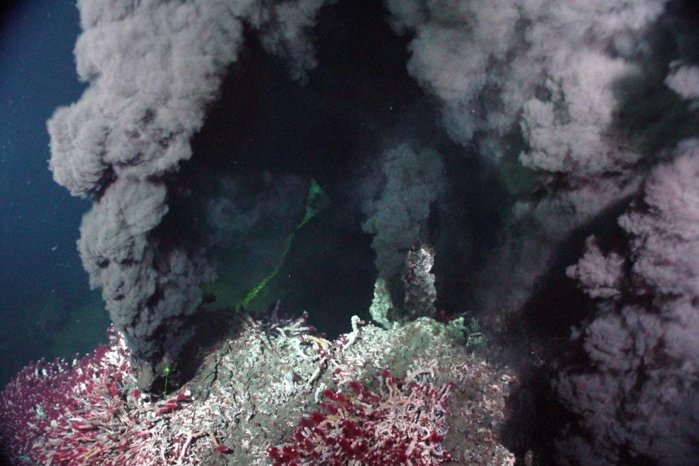 Le sorgenti di metano del Pacifico