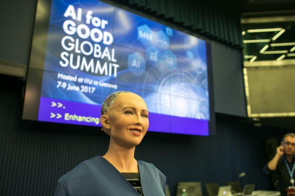 I robot vengono in pace: parola di Sophia